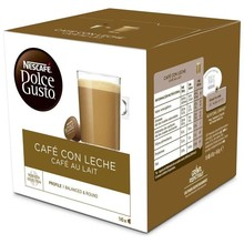 Coffee with milk 16U. Dolce Taste. Cafe au lait 16 original capsules