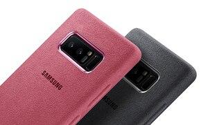 Image 5 - SAMSUNG оригинальный прочный армированный чехол для телефона официальный Alcantara чехол для телефона Samsung Galaxy Note 8 N9500 Note8 SM N950F мобильный телефон чехол