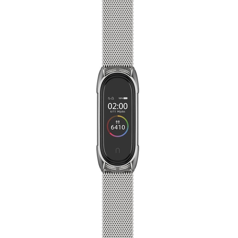Mijobs Tf-Bracelet Mi-Band Correa Metal Stainless-Steel 4-Strap Xiaomi for 4-3/Correa/Mijobs-design