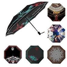 Brdwn SAO Daomu Note Date A Live Card Captor Sakura Naruto Natsume Yuujinchou Kantai Collection Cosplay umbrella