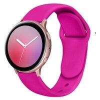 20mm/22mm Huawei watch GT 2/2e/pro cinturino per Samsung Gear S3/S2/correa cinturino in Silicone Galaxy watch 3/46mm/42mm/Active 2 band
