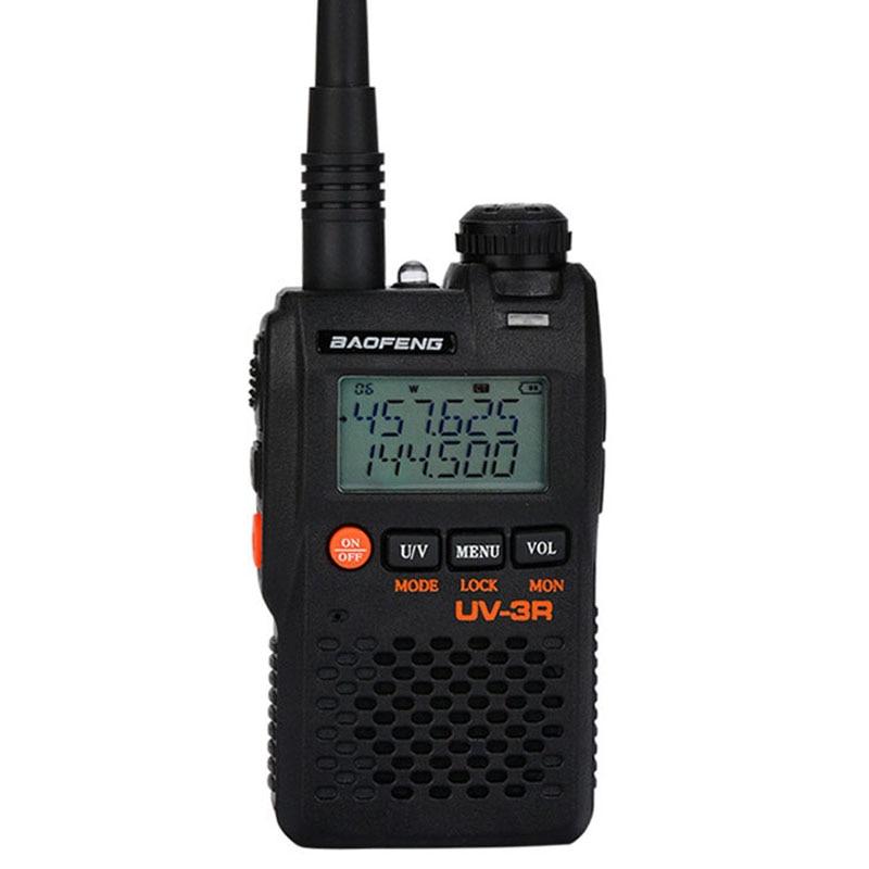 BaoFeng BF-UV-3R Walkie Talkie Clear Two Way Radio 10 KM 99CH UHF/VHF FM VOX Pofung UV 136-174&400-470MHZ Outdoor Walkie Talkie