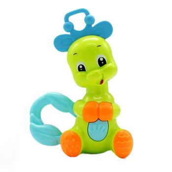Multi gryzak muzyka edukacyjne grzechotki dla niemowląt słoń baby Baby Cartoon Bell Jingle Animal Ring baby Cute grzechotka do ręki zabawki tanie i dobre opinie Liplasting Z tworzywa sztucznego CN (pochodzenie) Unisex Baby Rattles Mobiles 0-12 miesięcy 13-24 miesięcy 3 lat