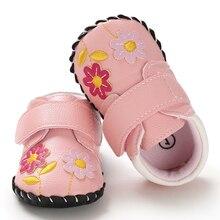 Детская кожаная обувь; коллекция года; сезон весна-осень; обувь для новорожденных девочек; детская дышащая обувь с мягкой подошвой; scarpe bimba