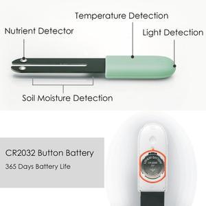 Image 3 - Più nuovo Origina HHCC Fiore Erba Monitor Digitale Erba Fiore Intelligente Tester Del Sensore Cura di Acqua Del Terreno di Impianto Luce Detector Rileva