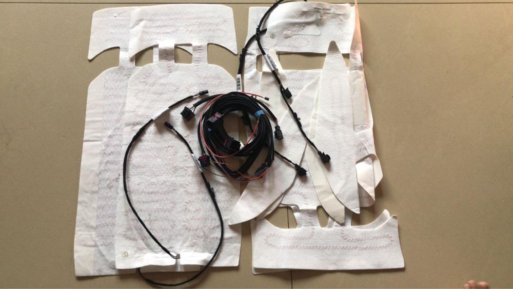 クッション加熱と背もたれ加熱または接続ハーネス v w ゴルフ MK7 ため MQB オクタヴィアシートクッション加熱  グループ上の 自動車 &バイク からの シート サポート の中 1
