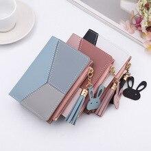 Women's Wallet Ladies Purse Card-Holder Coin-Pocket Zipper Carteira Short Tassel