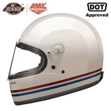AMZ Glass Fiber Motorcycle Helmet Full Face Moto Helmet Moto
