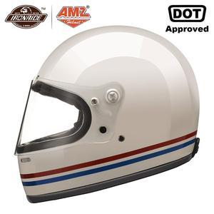 AMZ Glass Fiber Motorcycle Hel