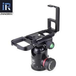 Image 4 - INNOREL LB A7M2 L Type Quick Release Plate Vertical L Bracket LB A7 II Hand Grip Specifically for SonyAlpha7II A7R2 A7M2 A7II