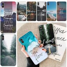 цена на LJHYDFCNB Travel mountain sea beach Phone Case For iphone 6 6s plus 7 8 plus X XS XR XS MAX 11 11 pro 11 Pro Max Cover