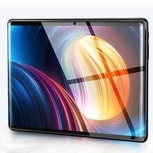 128G 10 inch 2.5 3G Nghe Gọi Điện Thoại Máy Tính Bảng Android 9.0 8 Octa Core 6G + 128GB máy Tính bảng Thẻ SIM Kép Laptop Wifi GPS Bluetooth Tab PC