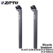 Ztto mtb 自転車シートポストシートポスト 25.4 27.2 28.6 31.6 30.8 350 ミリメートル 450 ミリメートルマウンテンバイク mtb 固定ギア