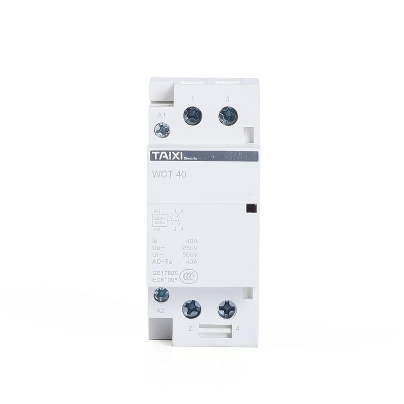 WCT household AC contactor 2P 100A 1NO 1NC 2NO 2NC 4P 40A 63A 100A 2NO 2NC 4NO 4NC in Contactors from Home Improvement