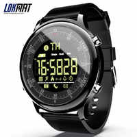 LOKMAT Bluetooth Smart Watch Waterproof Sport Men Digital Clock Ultra-long Standby Call Reminder Smartwatch For Ios And Android