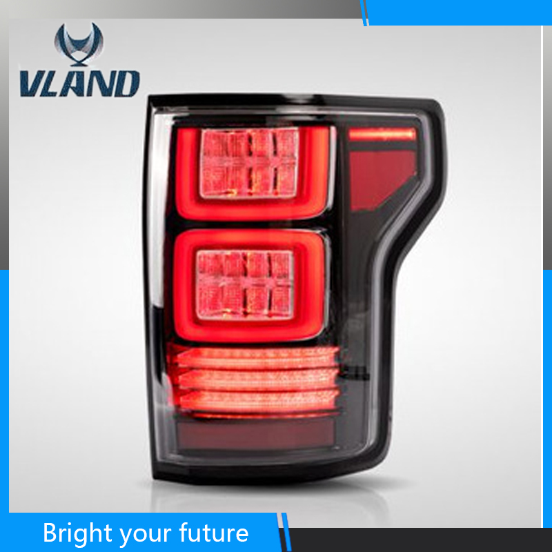 Us 388 8 19 Off Car Full Led Tail Lamp For Ford F150 Tail Lights 2015 2018 For Usa F 150 Raptor Version With Red Signal In Car Light Assembly From