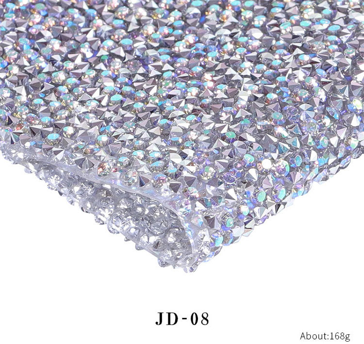 Prego salão de beleza mão travesseiro diamante