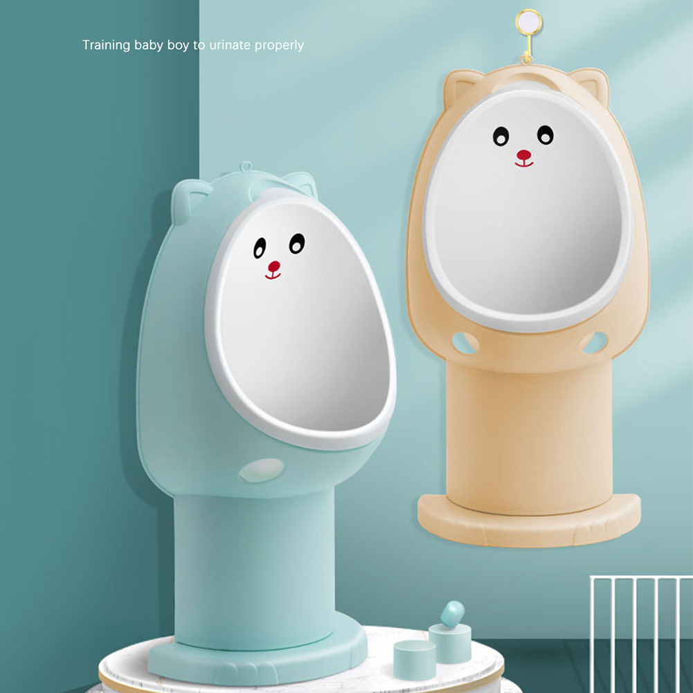 Baby Boy Urinal Wall-mounted Child Standing Potty Height Adjustable Toilet PP Non Toxic Placed On The Ground Or Hung On The Wall