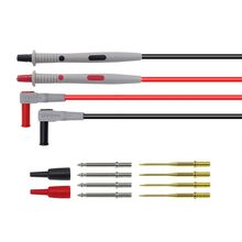 Digital Multimeter Probes Test Probes Leads Replaceable Needles Kits Clearance Cable Wire Tips Alligator Clip стоимость