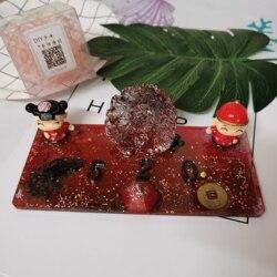 El yapımı diy özel süsler cep telefonu parantez cep geçici park kartları çiftler düğün hediyeleri Takı dekorasyon seti