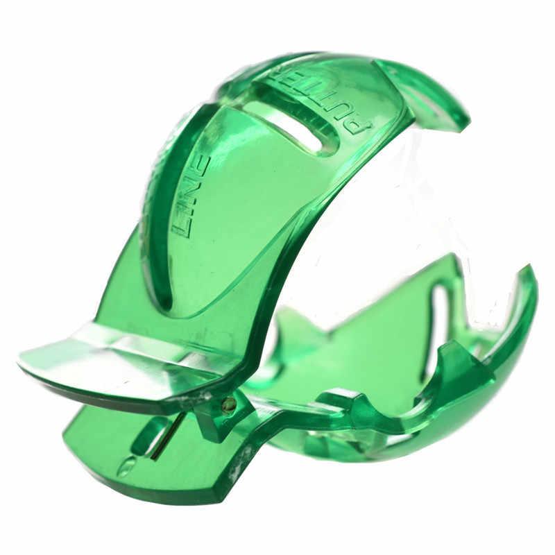 ゴルフスクライブアクセサリー用品透明ゴルフボールグリーンラインクリップライナーマーカーペンテンプレートアライメントマークツール置く