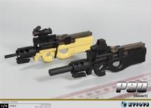 Zytoys zy2011 1/6 p90 arma modelo para 12 polegada figura de ação diy