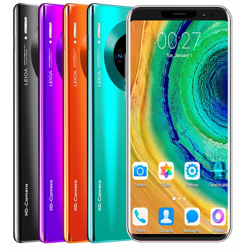 SOYES mate36 pro Mobile Phone Android Fingerprint Recognition 5.8inch 512M+ 4GB  New Camera Wifi Factory Phone 2