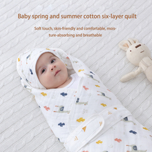 Blankets Swaddles-Wrap Sleeping-Bags Cocoon Newborn-Baby 0-7-Months Cotton for Babies