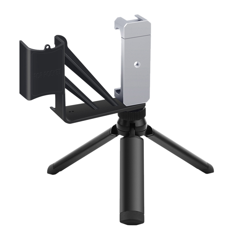 Phone Mount Folding Tripod For-Dji Osmo Pocket Handheld Gimbal Camera Stabilizer Stand Portable Bracket Holder Clip Shoe Mount