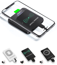 Wireless Charger Induction Receiver Qi Charging Adapter For iphone 7 6 6S 5S Micro USB Type C Charge Pad dock Connector