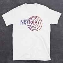 Nouvelle arrivée d'été Offre Spéciale hommes T-Shirt Alan Partridge North Norfolk Station de Radio Numérique en Milieu de Matinée Questions Homme prin T-Shirt