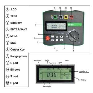 Image 2 - DUOYI testeur numérique de terre, DY4300, testeur numérique de résistance au sol, mégère, mégohmmètre, composante de résistance du sol, 0 ~ 20.99 kΩ