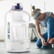 купить New Large Capacity Sport Water Bottle Plastic Gym Water Bottle  Outdoor Sports дешево