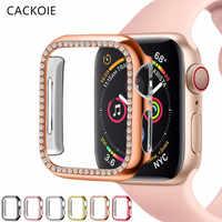 Funda protectora de pantalla para apple Watch 5, 44mm, 40mm, serie 4, Series 3, 38mm, 42mm