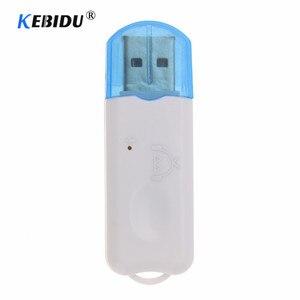 Хит продаж, Bluetooth стереоприемник Kebidu с USB, беспроводной аудиоадаптер, донгл, встроенный микрофон для колонок для телефона, автомобиля