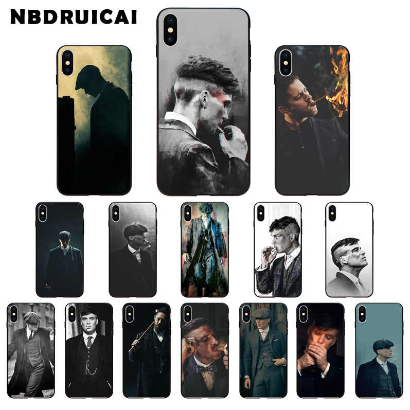 Nbdruicai Peaky Blinders Thomas Shelby Tpu Zachte Siliconen Telefoon Case Voor Iphone 11 Pro Xs Max 8 7 6 6S Plus X 5 5S Se Xr Cover