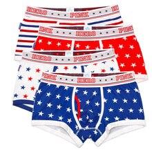 4 pçs/lote rosa heróis de alta qualidade algodão underwear men boxer shorts moda impressão masculina cuecas