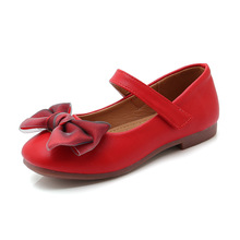 Pink Black Red Kid Shoes Childrens Girls Princess Shoes Girls Party Shoes Soft bottom chaussure fille 3 4 5 6 7 8 9 10 11 12 13T pink black 2019new kid shoes childrens girls shoes flowers princess soft bottom flat shoes 3 4 5 6 7 8 9 10 11 12 13 14 15t