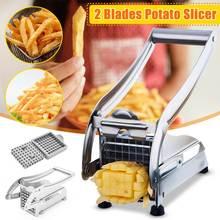 Портативная машина для изготовления картофельных чипсов из нержавеющей стали, резак для картофеля, слайсер, измельчитель, резак для огурцов, кухонные гаджеты
