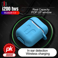 i200 TWS Touch Control 1:1 Air 2 Smart Sensor Wireless Charging Sport Wireless Earphones Headphone Earbuds PK i12 i500 i9000 tws(China)