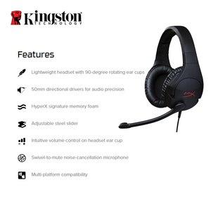 Image 2 - Kingston Hyperx Cloud Stinger Gaming Headset Hoofdtelefoon Met Een Microfoon Microfoon Microfoon Voor Pc PS4 Xbox Mobiele Apparaten
