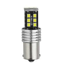 1156 BA15S P21W Car LED Bulb 1157 Bay15d T20 7443 2835 15SMD Bulbs For Car Turn Signal Lights Brake Lamp
