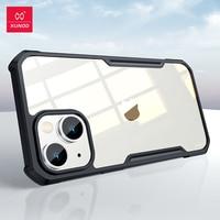 Custodia Xundd per iPhone 13 custodia antiurto trasparente trasparente Airbag Cover per iPhone 13 Mini Funda Coque Cover Fashion Shell