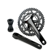 Ultra-light sprocket wheel aluminum alloy road bike bicycle large gear plate 22 speed 20