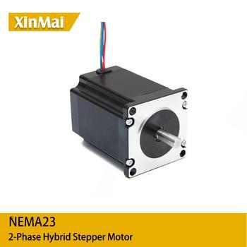 10 Uds Nema 23 Motor paso a paso 2 Fase 4-lleva 283,22 Ozin 2N M 76mm CNC 3D impresora 57HS7630 1.8deg
