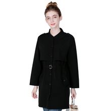 Trench coat for women manteau femme fall 2019 long moda mujer abrigo plus size winter ropa
