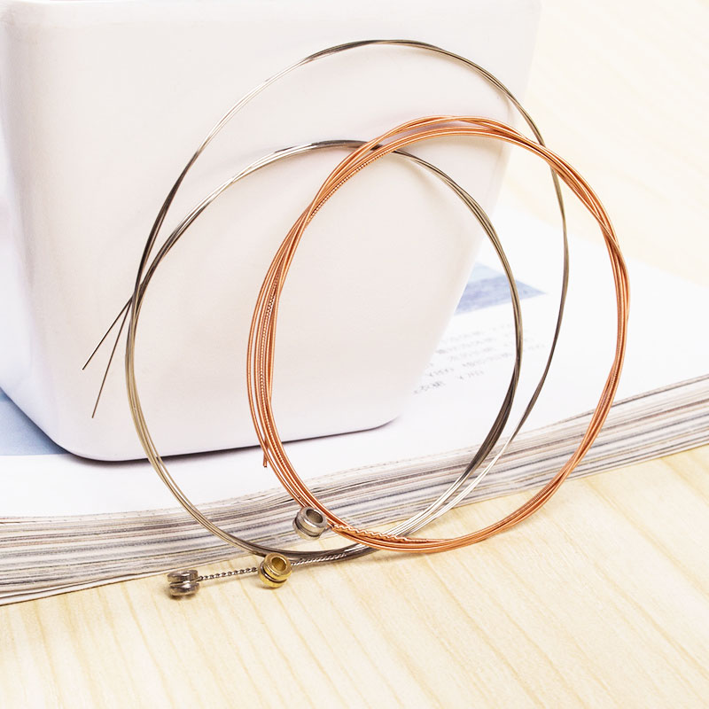 High Quality 3Pcs Guitar Strings Loose Strings Acoustic Guitar E-1st  B-2nd G-3rd For Acoustic Folk Guitar Classic Guitar String