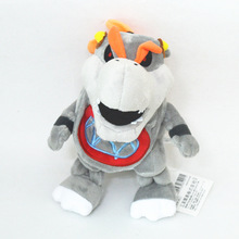 7 inches 18cm super mario bros koopa bowser plush toys with tag high quality gift for children new 1pcs 8 20cm Super Mario Gray King Bowser Koopa Stuffed Plush Toys With Tag