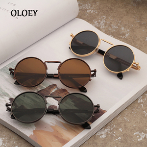 Round Metal Frame Men Sunglass