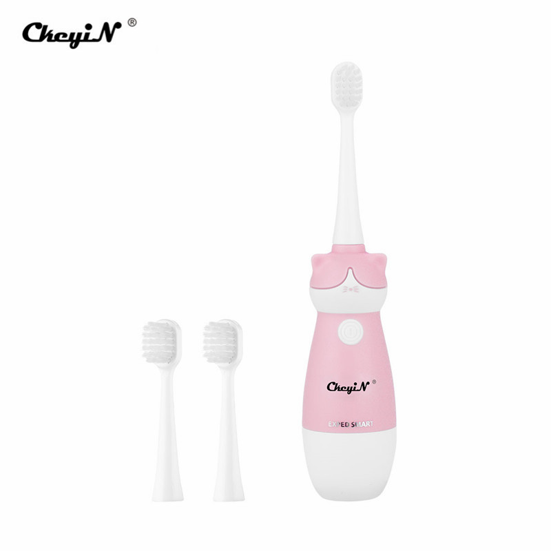 Electric Toothbrush Kids Cartoon Cat Waterproof Soft Tooth Brush Battery Power Baby Child Toothbrushes Dental Teeth Oral Care 45 image